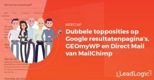 Recap Google SERP GEOmyWP MailChimp