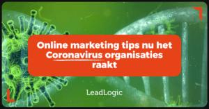 marketingtips in tijden van corona