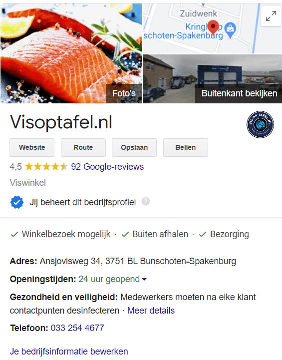 Klantcase Google Reviews