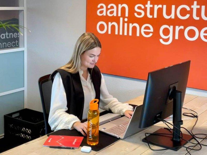 Junior marketing consultant Merel